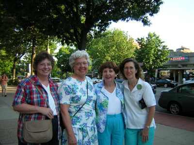 Gail, Mary Fran, B'Ann