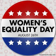 Women's Equality Day - Aug. 26