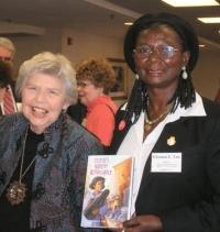 Eleanora E. Tate, winner of 2008 AAUW Juvenile Literature Award