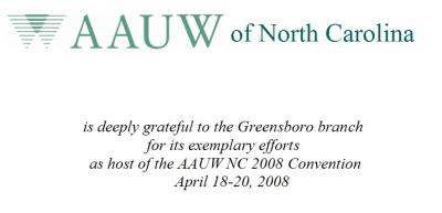 Greensboro Certificate