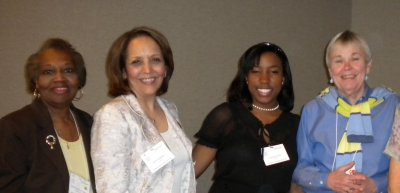 Workshop presenters with AAUW NC leaders