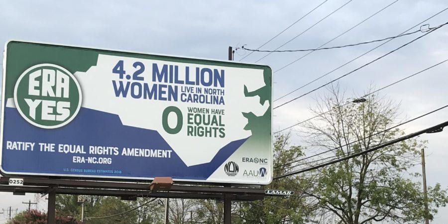 ERA Billboard over Coliseum Blvd in Greensboro