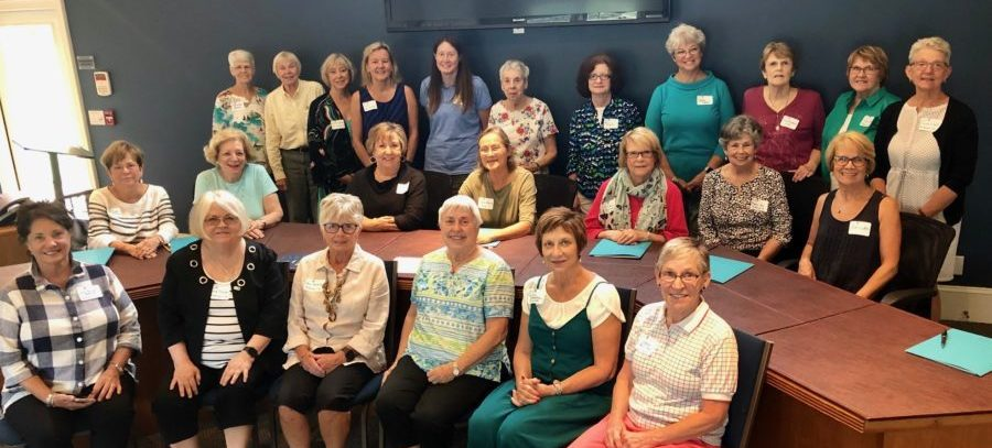 Members at the AAUW NC Regional Meeting in Asheville, 9/11/2019.